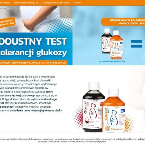 Doustny test obciążenia glukozą