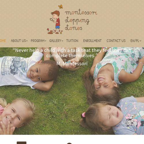 Anglojęzyczne przedszkole Montessori