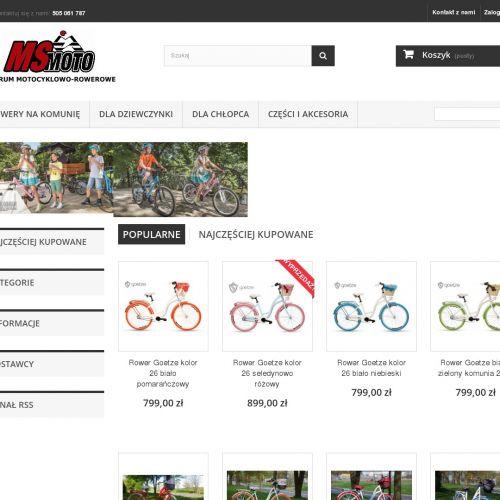 Koszyk do roweru Romet