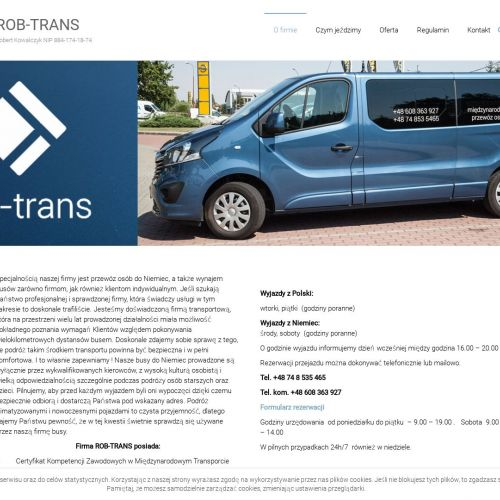 Transport osób do Niemiec
