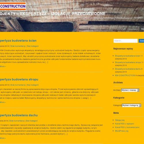 Konstrukcje inżynierskie i kosztorysy techniczne