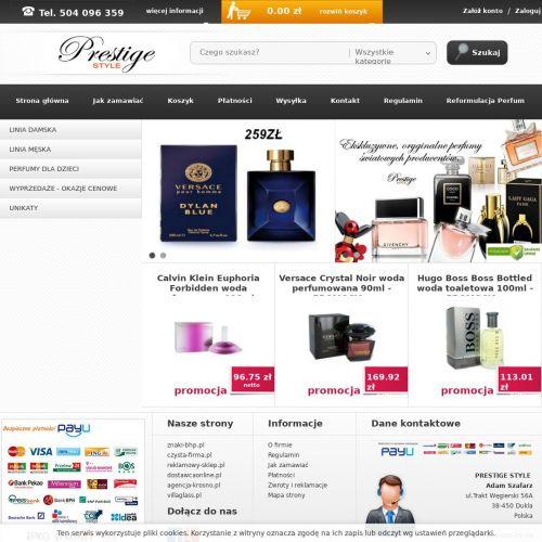 Tanie markowe perfumy damskie i męskie