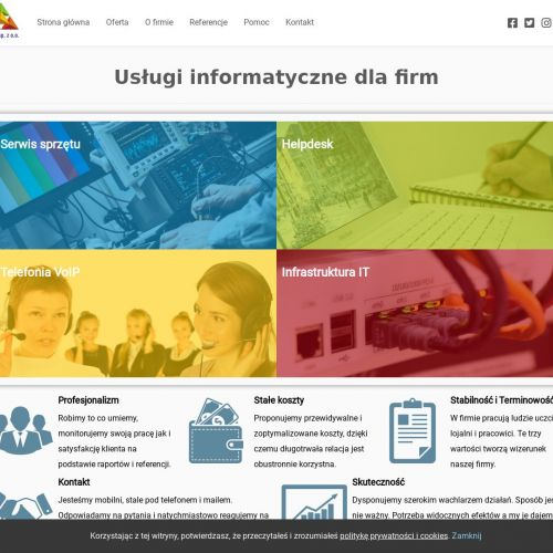 Budowa infrastruktury informatycznej