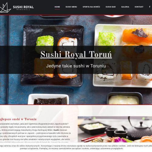 Zestaw sushi z Torunia