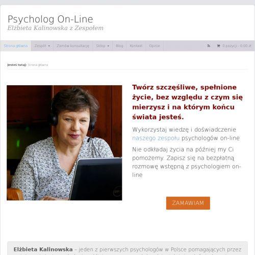 Usługi psychologa klinicznego