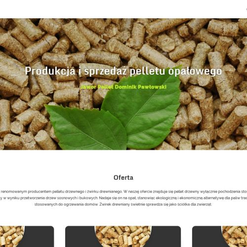 Producent pelletu opałowego