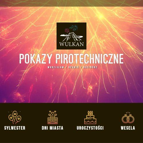 Profesjonalne pokazy pirotechniczne na Śląsku