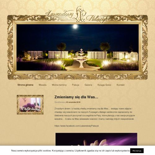 Dom weselny w Błoniu pod Warszawą