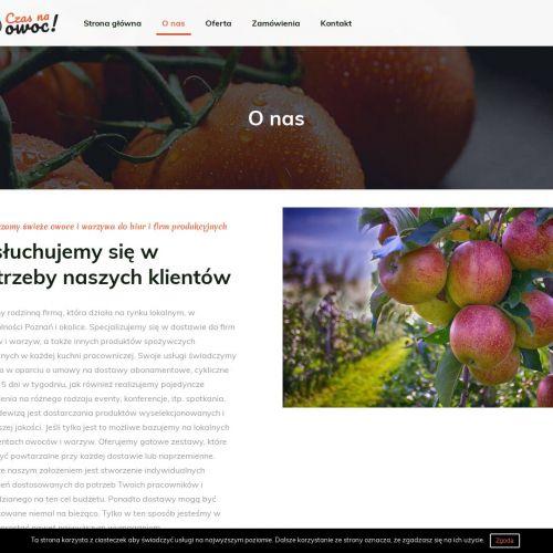 Owocowe kosze dla pracowników z Poznania