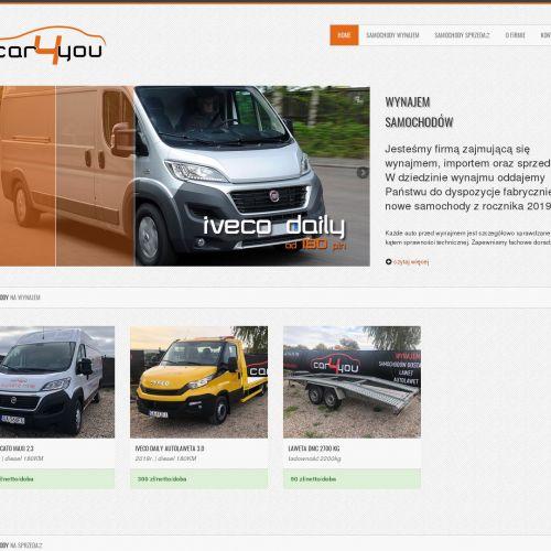 Samochody dostawcze na wynajem