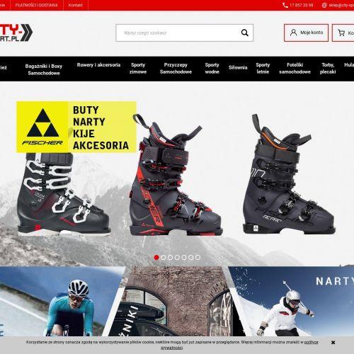 Buty narciarskie i komplety bielizny termoaktywnej