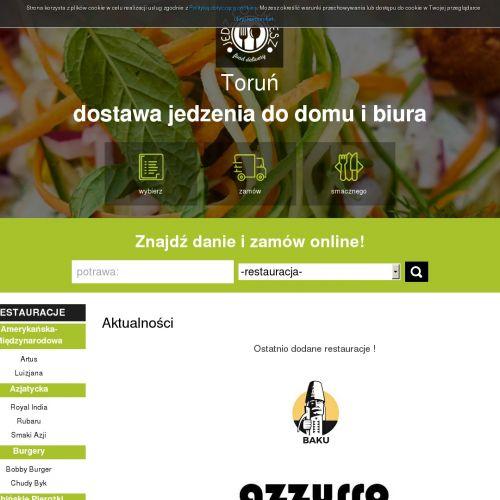 Restauracja z dowozem na terenie Torunia
