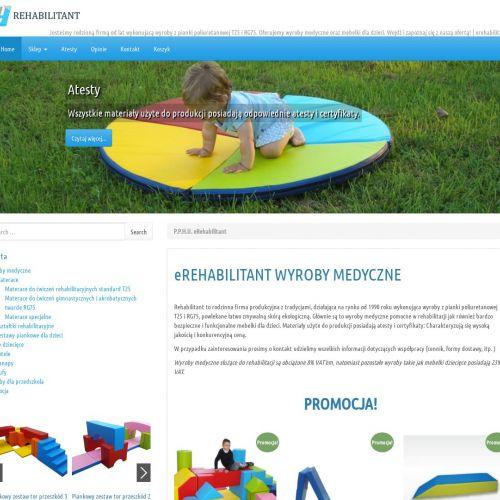 Materace specjalne i piankowe pufy dla dzieci