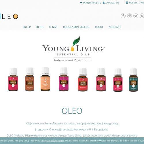 Sklep z olejkami eterycznymi Young Living