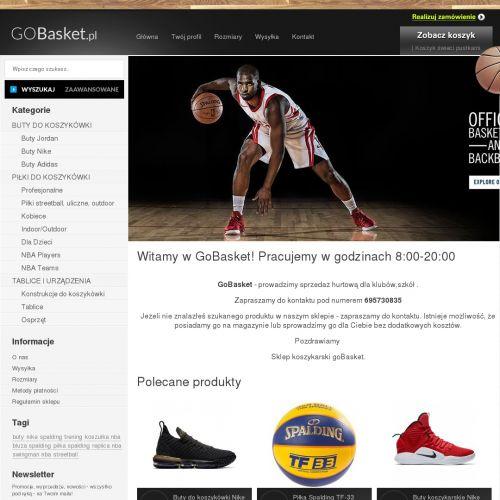 Sklep koszykarski z produktami Adidas