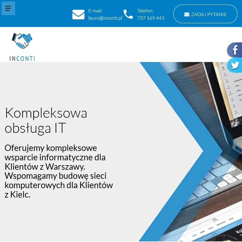 Obsługa IT w Kielcach dla firm
