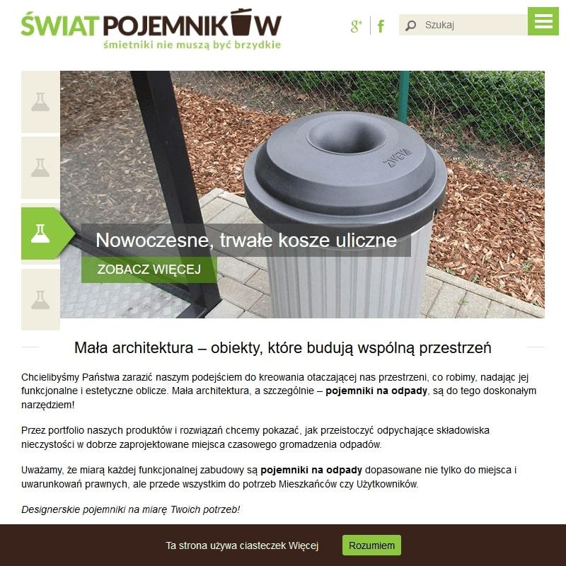 Podziemne kontenery na odpady