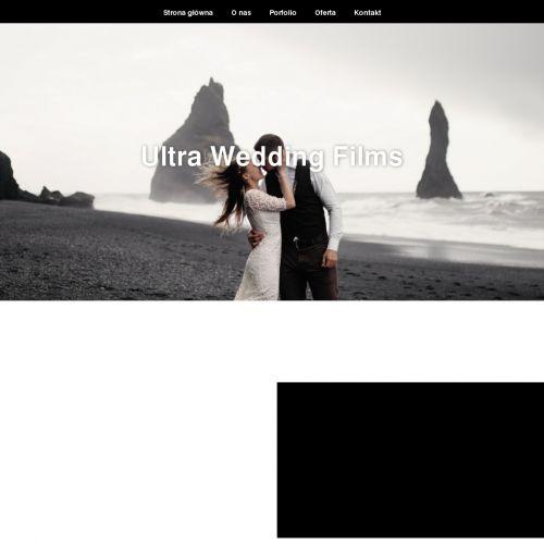 Artystyczny film ślubny
