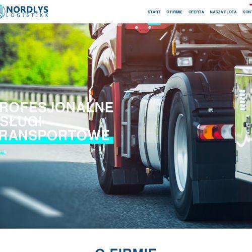 Przewóz towaru do Drammen i Stavanger
