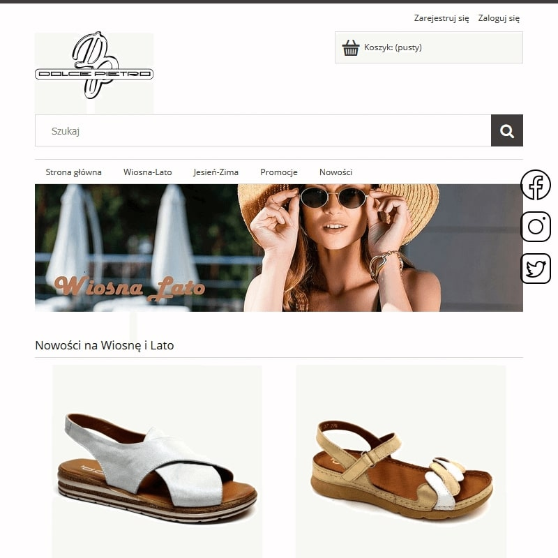 Damskie obuwie skórzane