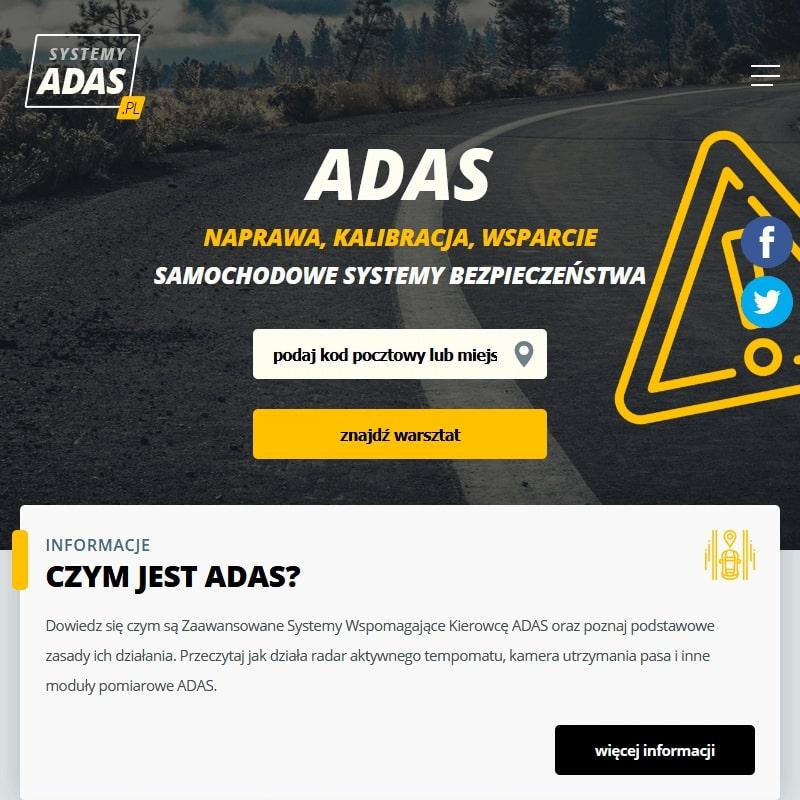 Kalibracja systemu ADAS