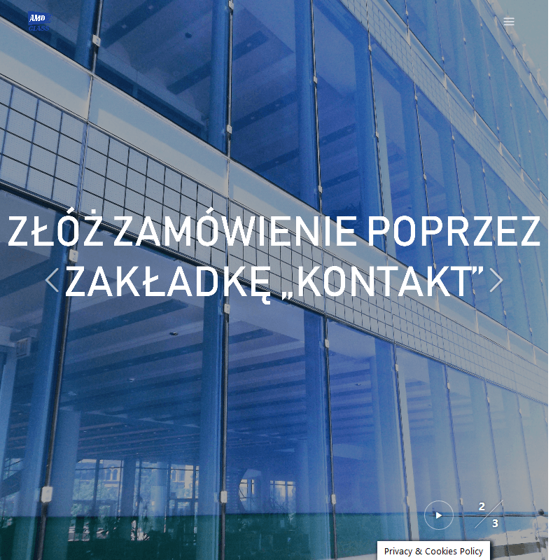 Zabudowy szklane - Otwock