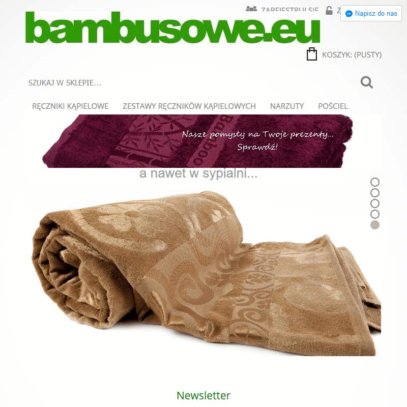 Ręcznik bambusowy z kapturkiem
