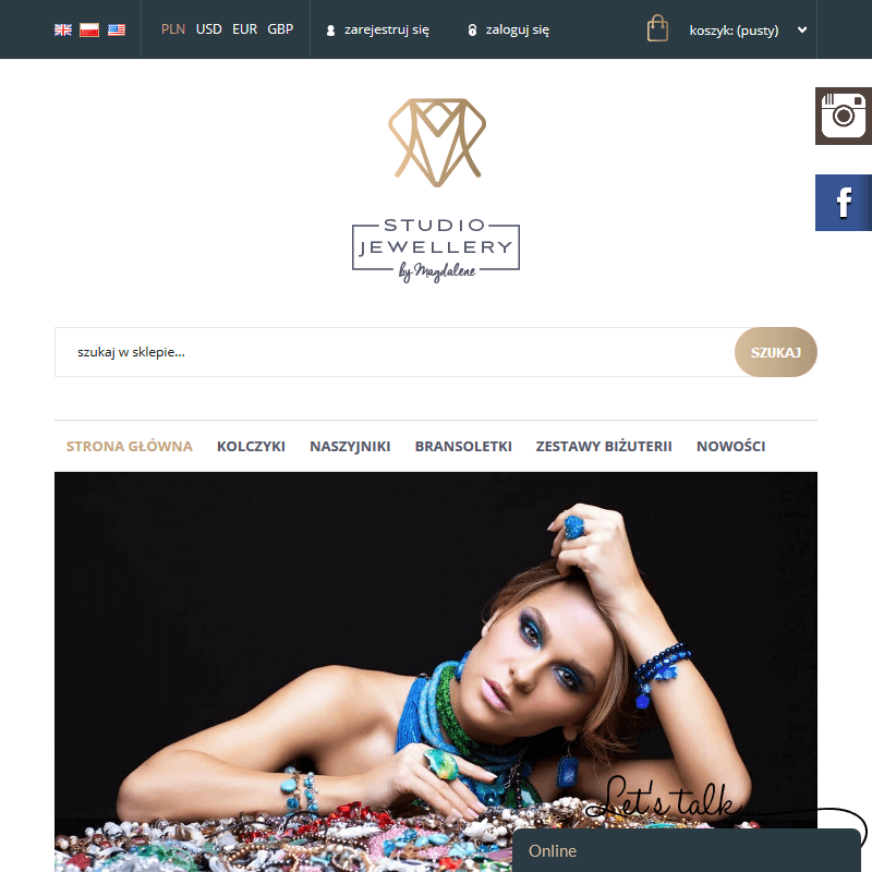 Biżuteria autorska - Inowrocław