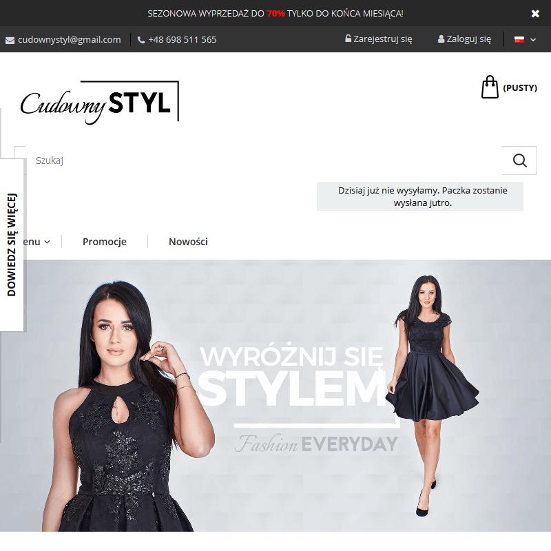 Sklep z modną damską odzieżą