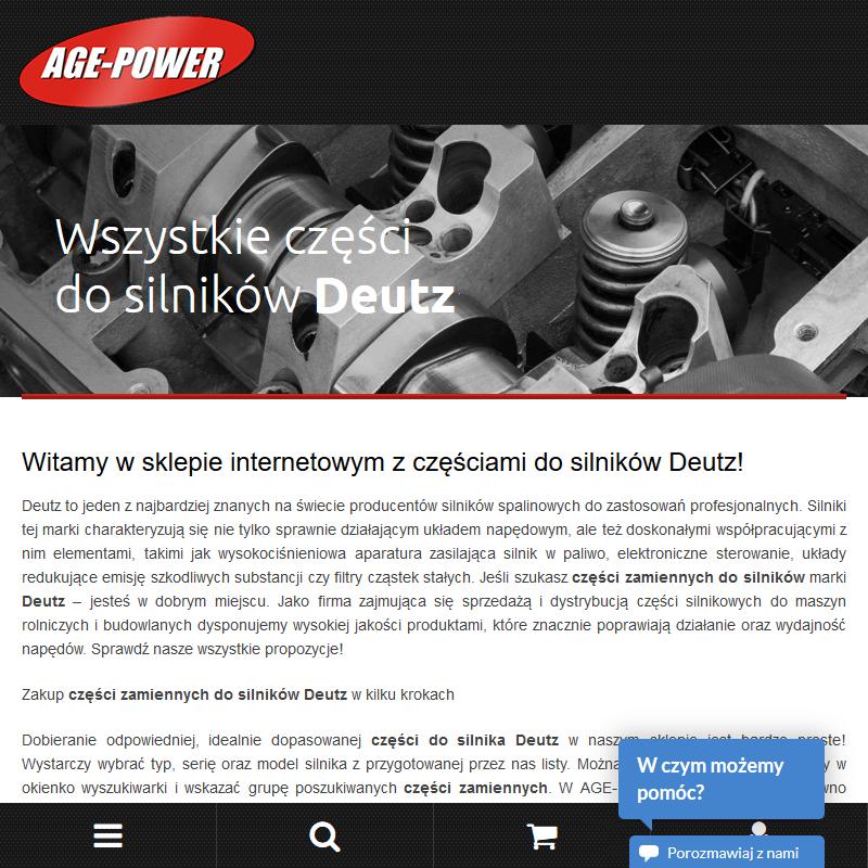 Naprawy oraz remonty silników Deutz