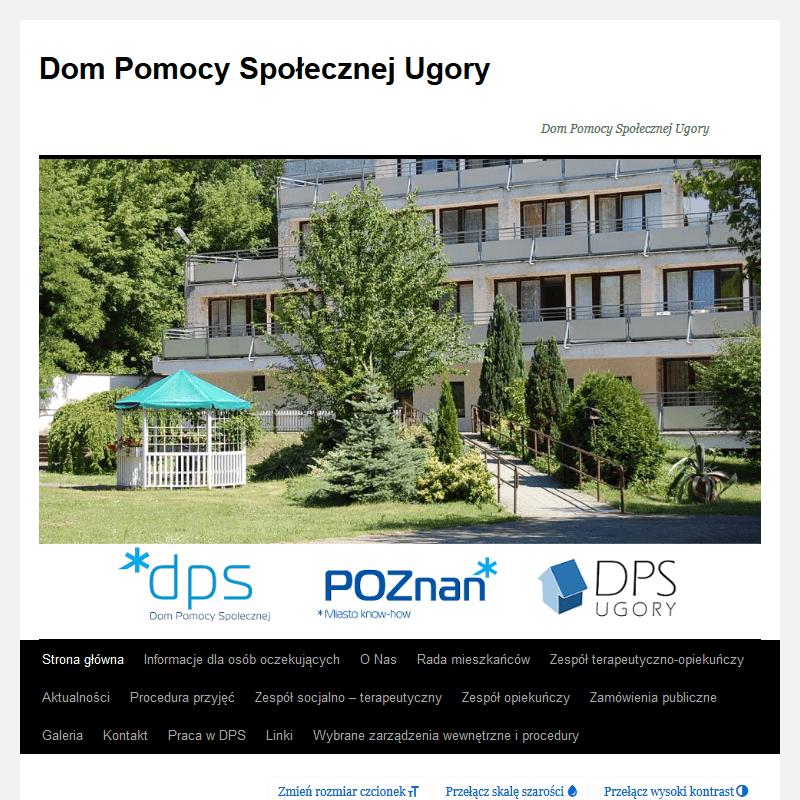 Dom pomocy społecznej Ugory w Poznaniu