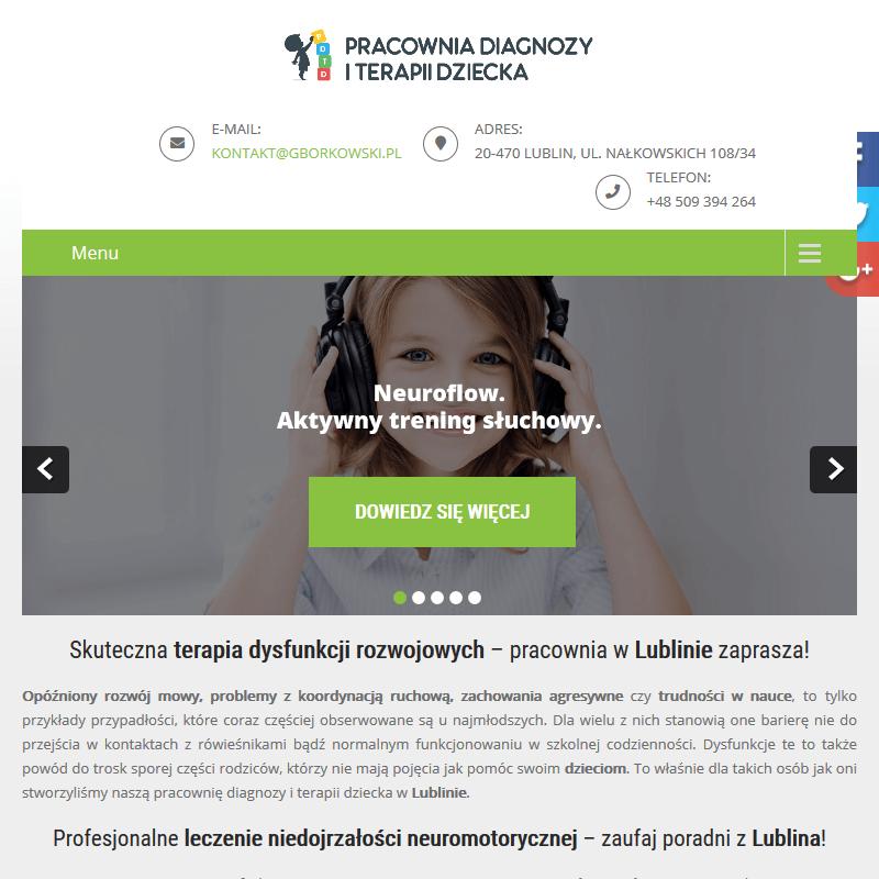 Dysfunkcje rozwojowe terapia - Lublin