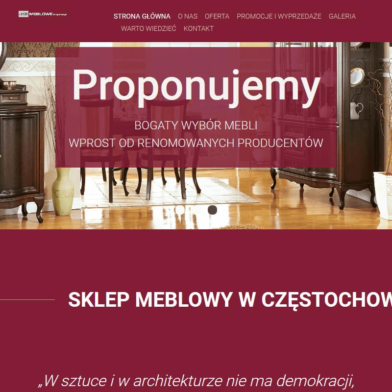 Meble do gabinetu - Częstochowa