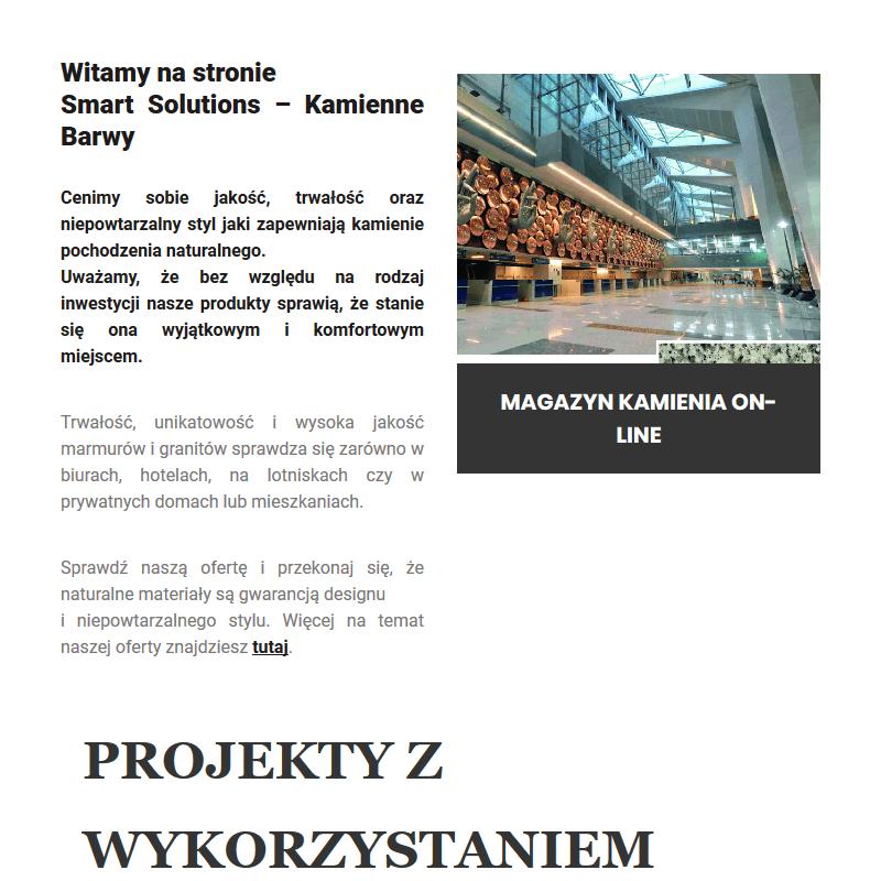 Hurtownia kamienia naturalnego w Warszawie