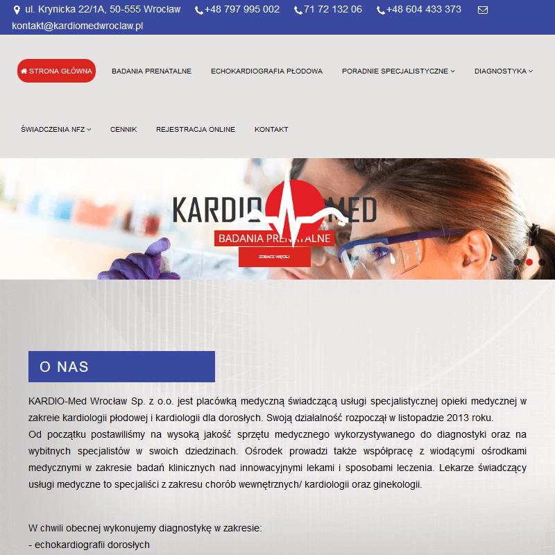 Badania prenatalne - Wrocław