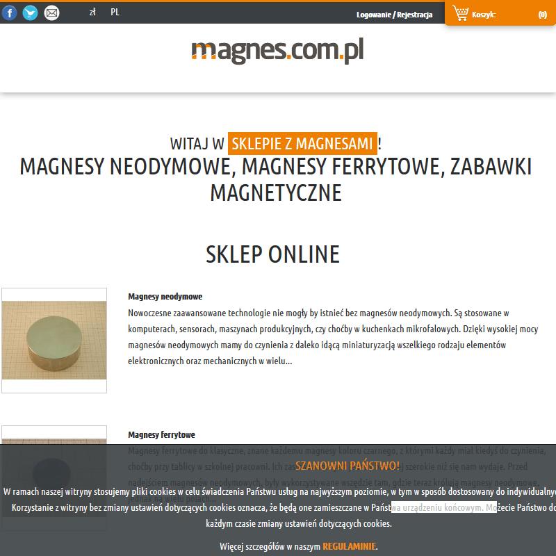 Sklep z magnesami neodymowymi