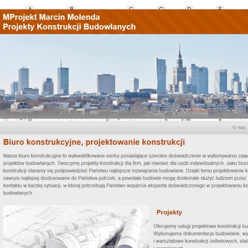 Projekty konstrukcji - Mazowieckie