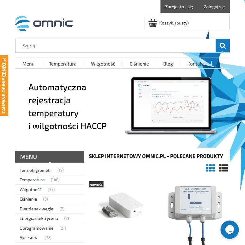 Rejestrator temperatury z czujnikami