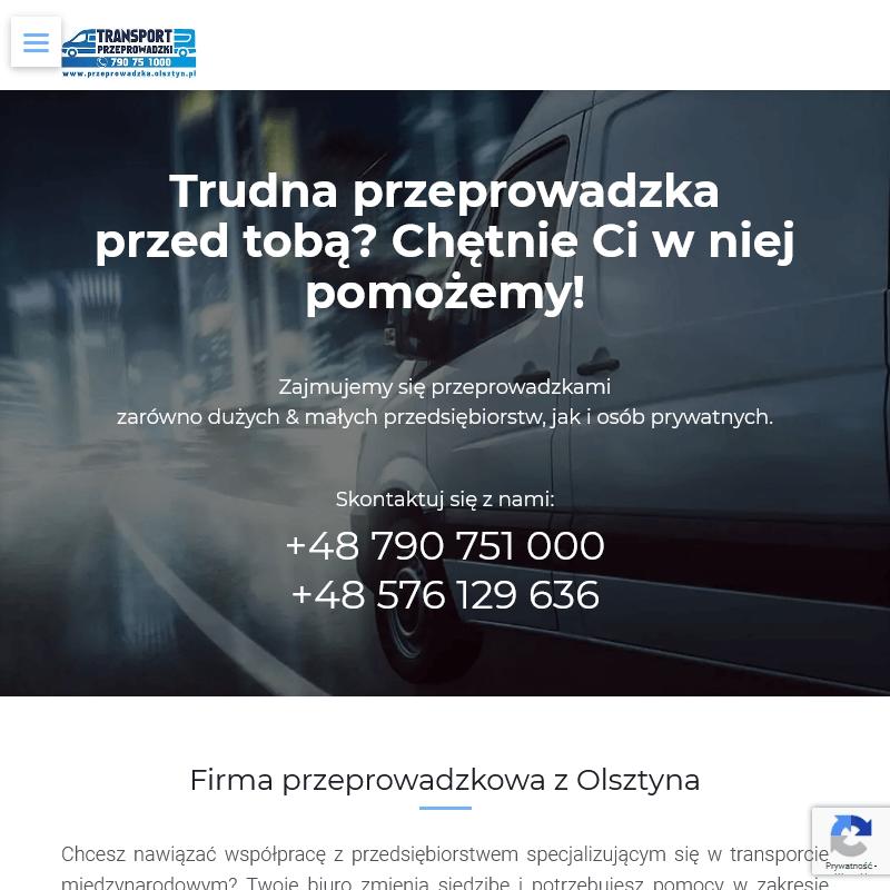 Transport niskopodwoziowy w Olsztynie
