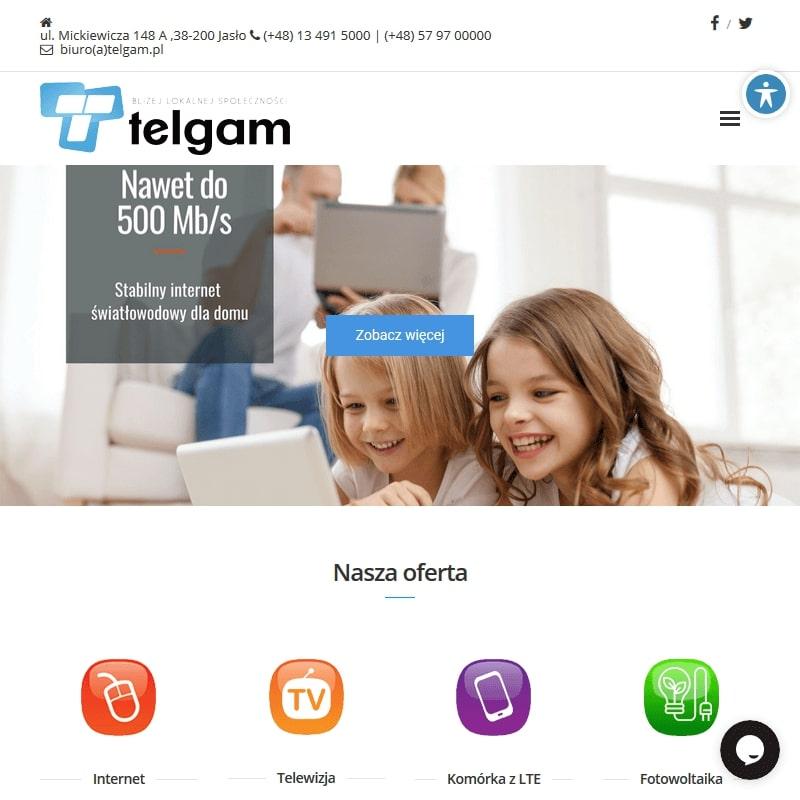 Internet światłowodowy dla firm w Jaśle